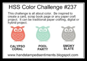 HSS Color #237 Sketch
