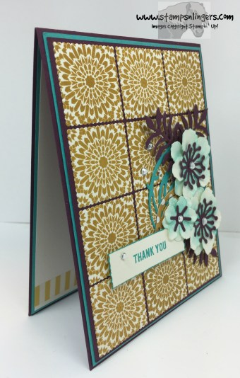 Moroccan Botanicals Thank You 2 - Stamps-N-Lingers