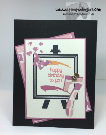 Painters Palette Birthday 1 - Stamps-N-Lingers