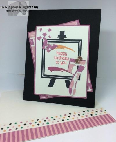 Painters Palette Birthday 7 - Stamps-N-Lingers