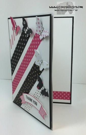 Pop of Pink Butterflies 2 - Stamps-N-Lingers