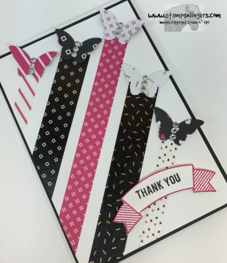 Pop of Pink Butterflies 4 - Stamps-N-Lingers
