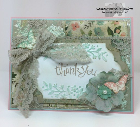 Sassy Victorian Thank You 1 - Stamps-N-Lingers