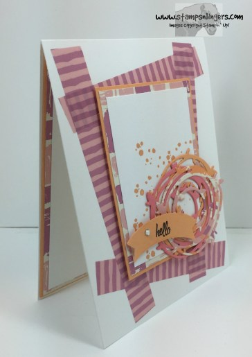 Swirly Bird Hello 2 - Stamps-N-Lingers