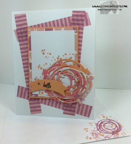 Swirly Bird Hello 6 - Stamps-N-Lingers