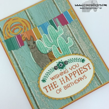 Birthday Fiesta Birthday Card 4 - Stamps-N-Lingers
