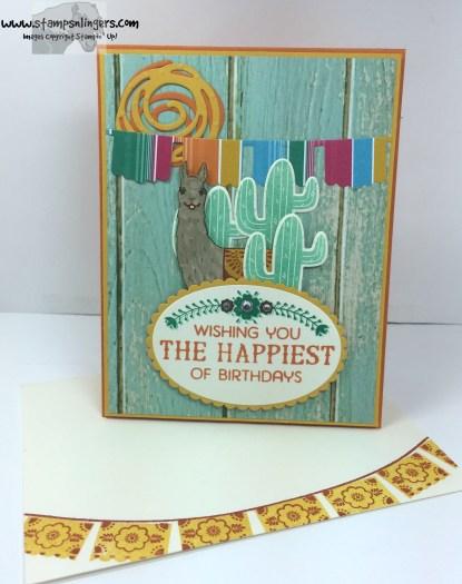 Birthday Fiesta Birthday Card 6 - Stamps-N-Lingers