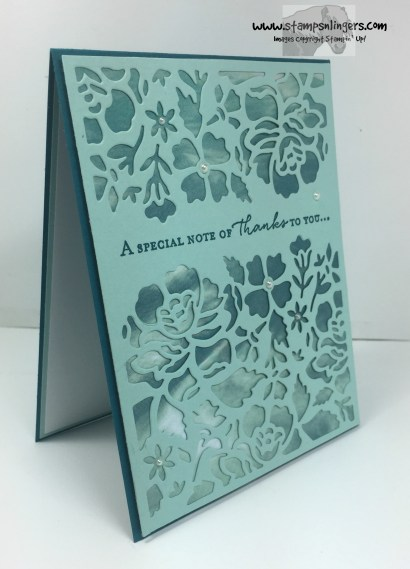 Floral Phrases Thanks 2 - Stamps-N-Lingers