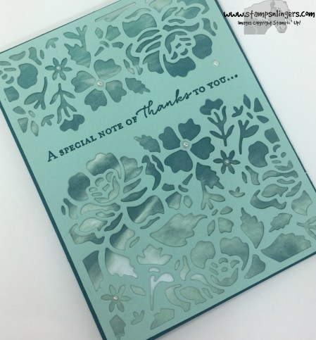 Floral Phrases Thanks 4 - Stamps-N-Lingers