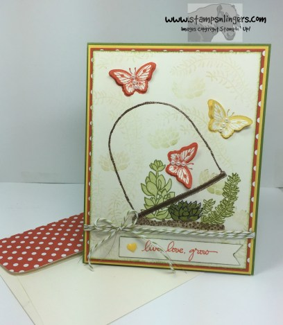 Live, Love, Grow Butterflies 7 - Stamps-N-Lingers