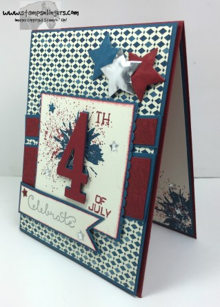 Touches of Texture 4th of July 3 - Stamps-N-Lingers