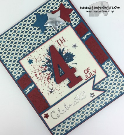 Touches of Texture 4th of July 4 - Stamps-N-Lingers