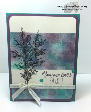 Grateful Bunch Vintage Leaves 1 - Stamps-N-Lingers