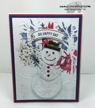Thoughtful Banner Snowman - Stamps-N-Lingers