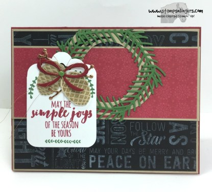 Christmas Pines Merry Medley 1 - Stamps-N-Lingers