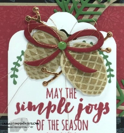 Christmas Pines Merry Medley 8 - Stamps-N-Lingers