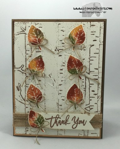 Falling Thoughtful Branches Autumn Leaves 1 - Stamps-N-Lingers