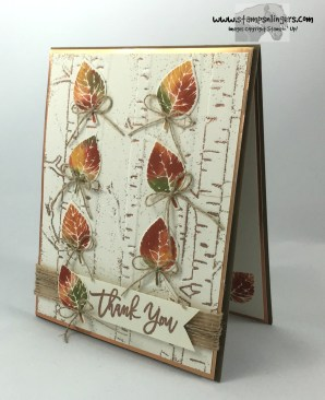 Falling Thoughtful Branches Autumn Leaves 3 - Stamps-N-Lingers