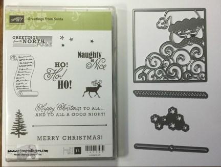 Greetings from Santa Bundle - Stamps-N-Lingers
