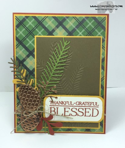 Pines and Paisley Blessed 1 - Stamps-N-Lingers