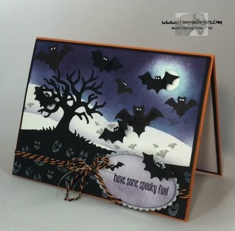 Spooky Batty Halloween Fun 3 - Stamps-N-Lingers