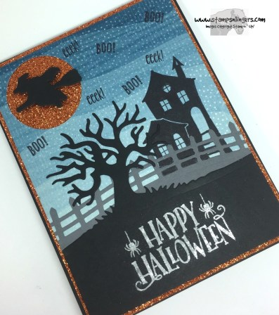 Spooky Fun Halloween Treat 4 - Stamps-N-Lingers