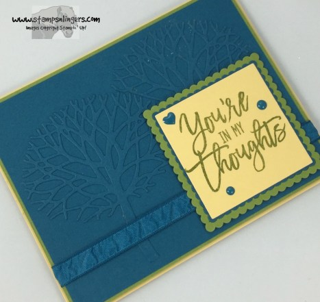 Thoughtful Branches Embossed Panel 4 - Stamps-N-Lingers