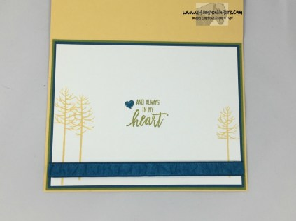 Thoughtful Branches Embossed Panel 5 - Stamps-N-Lingers