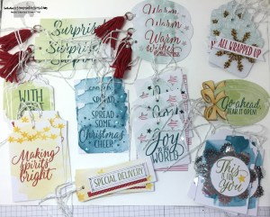 Tin of Tags 2 - Stamps-N-Lingers