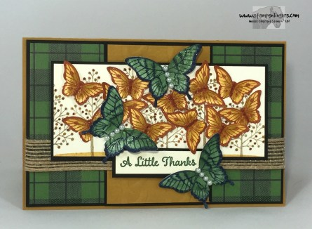 Totally Trees Butterfly Thanks 1 - Stamps-N-Lingers
