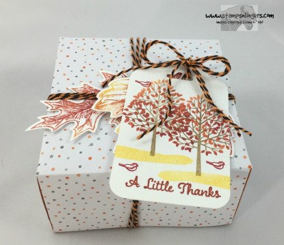Totally Trees Note Card Box 2 - Stamps-N-Lingers