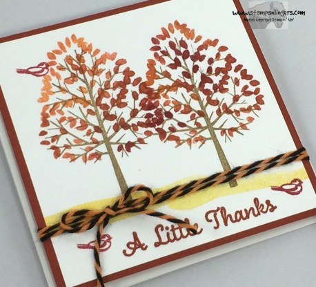 Totally Trees Thank You Notes 4 - Stamps-N-Lingers