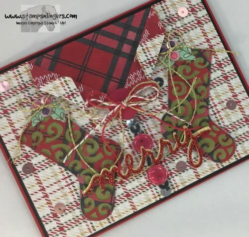 Stampin' Up! An Ugly Christmas Stockings Sweater!