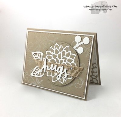 Lovely Words and Mayflowers - Stamps-N-Lingers 3
