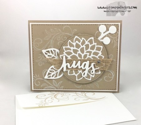 Lovely Words and Mayflowers - Stamps-N-Lingers 7