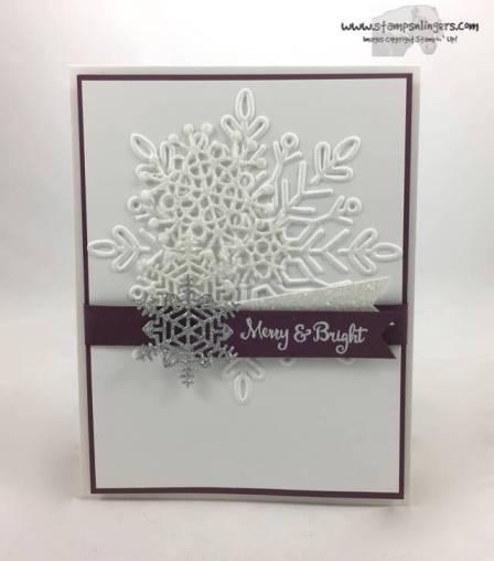 Seasonal, Swirly Sparkly Snowflakes - Stamps-N-Lingers 1