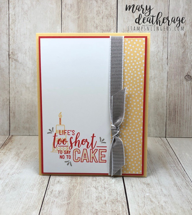 Life Amazing: Stampin' Up! Amazing Life Birthday Sneak Peek