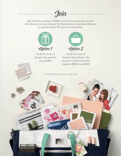 Stampin' Up! Sale-A-Bration's SECOND Release Sneak Peek