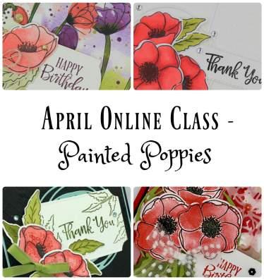 April Online Class Collage