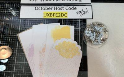 October Host Code UXBFE2DG    GIFT