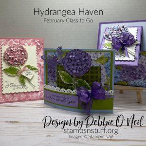 Hydrangea Haven – Online Class to Go – Feb 2021