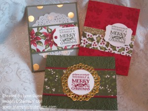 cozy christmas stamp a stack