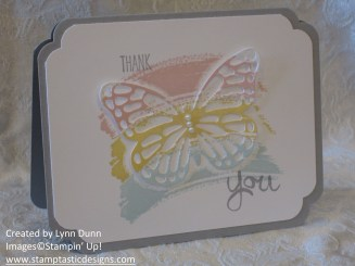 work of art butterfly card