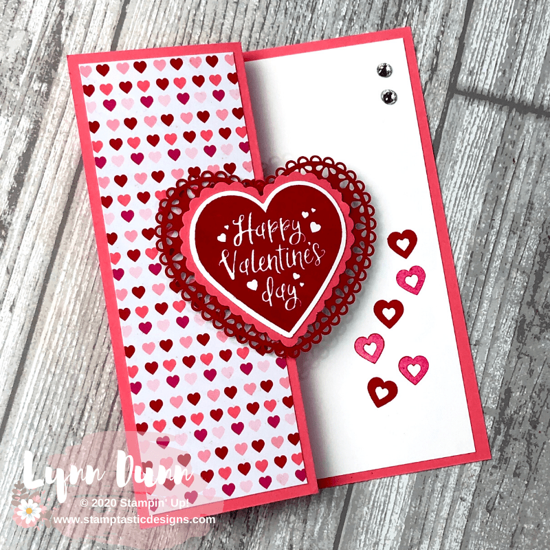 4 simple fun fold cards to make for valentine's day  lynn