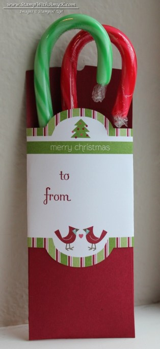 Petite Pocket Candy Cane Holder