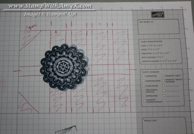 Stampin' Up Grid Paper