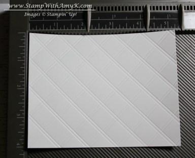 Diagonal Plate Scoring 1