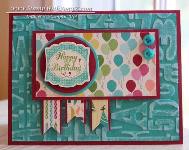 Label Something Happy Birthday Stamp With Amy K