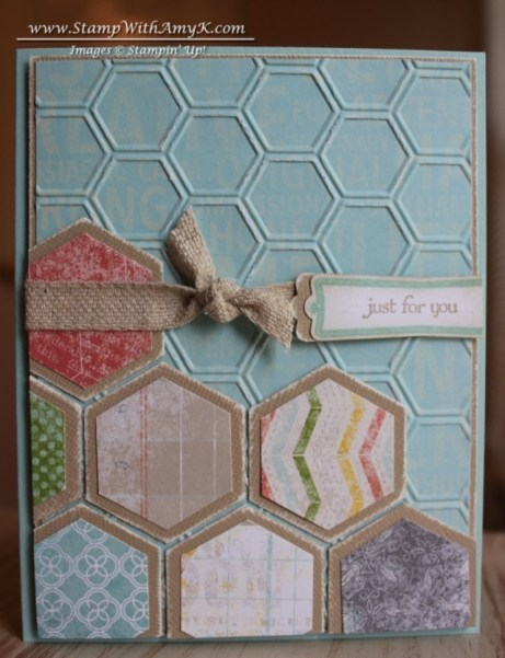Teeny Tiny Wishes Hexagon Punch