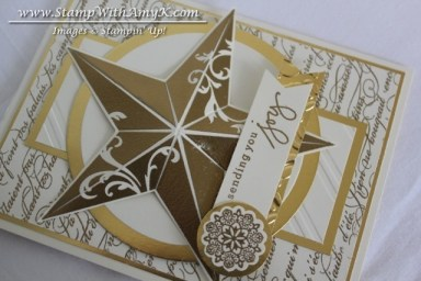 Christmas Star 3 - Stamp With Amy K